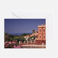 La Orotava. View from Marquesado de  Greeting Card