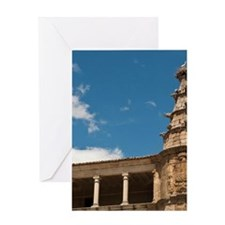 Conventual De San Benito Salorino, E Greeting Card