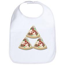 Pizza Triforce Bib