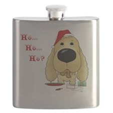 BlndCockerBlueShirt Flask