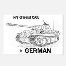0tank_wSm-txt Postcards (Package of 8)