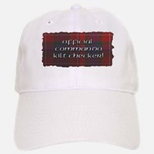 Commando Kilt Checker Baseball Baseball Cap