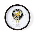 Clan Campbell Wall Clock