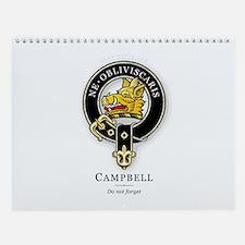 Clan Campbell Wall Calendar