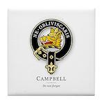 Clan Campbell Tile Coaster