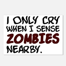 Zombies nearby Postcards (Package of 8)