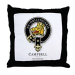 Clan Campbell Throw Pillow