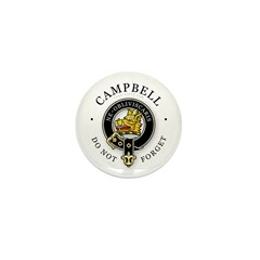 Clan Campbell Mini Button (100 pack)