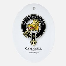 Clan Campbell Oval Ornament