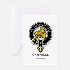 Clan Campbell Greeting Cards (Pk of 10)