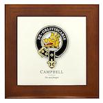 Clan Campbell Framed Tile