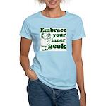 Embrace Your Inner Geek Women's Light T-Shirt