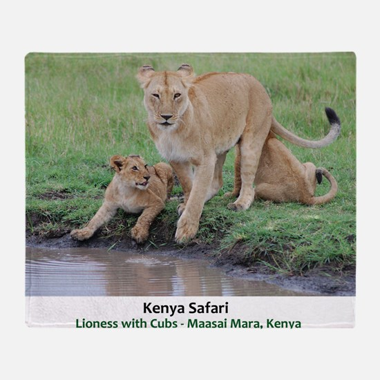 Kenya Cover Throw Blanket