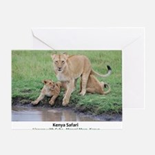 Kenya Cover Greeting Card