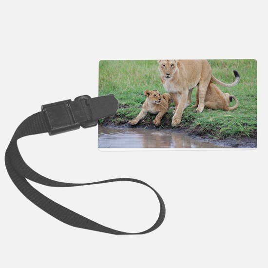 Kenya Cover Large Luggage Tag