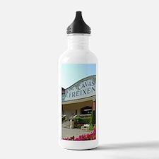 Famous wine region and Water Bottle