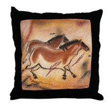 cave-drawing-1 Throw Pillow