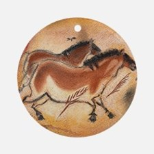 cave-drawing-1 Round Ornament