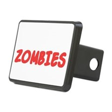 Zombies nearby light Hitch Cover