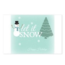Simple Wishes Let It Snow Blank Postcards (Package
