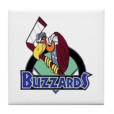 Las Vegas Buzzards Tile Coaster