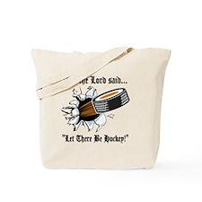 Funny Hockey Tote Bag