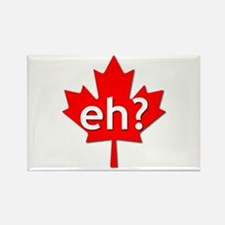 Cute Canadian hockey Rectangle Magnet