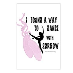 Dance with Sorrow Postcards (Package of 8)