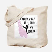 Dance with Sorrow Tote Bag