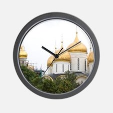 Russia, Moscow, The Kremlin. (RF) Wall Clock