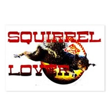 squirrellover baseball Postcards (Package of 8)