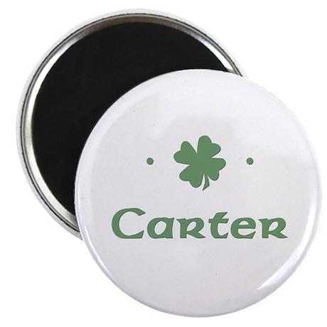 """""""Shamrock - Carter"""" Magnet"""