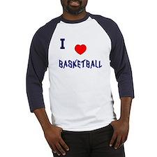 Love Basketball  Baseball-style Jersey