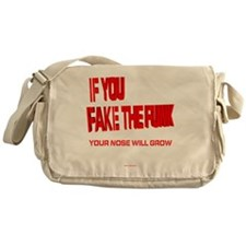 Fake the Funk R Messenger Bag