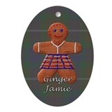 Jamie fraser Oval Ornaments