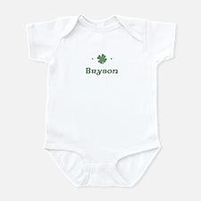 """""""Shamrock - Bryson"""" Infant Bodysuit"""