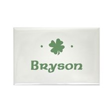 """Shamrock - Bryson"" Rectangle Magnet"
