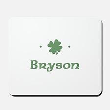 """Shamrock - Bryson"" Mousepad"