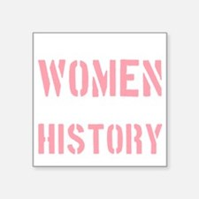 "2000x2000wellbehavedwomense Square Sticker 3"" x 3"""