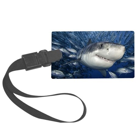 greatwhiteandfriends Large Luggage Tag