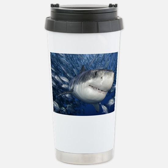 greatwhiteandfriends Stainless Steel Travel Mug