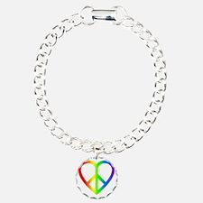 2000x2000peaceheartrainb Bracelet