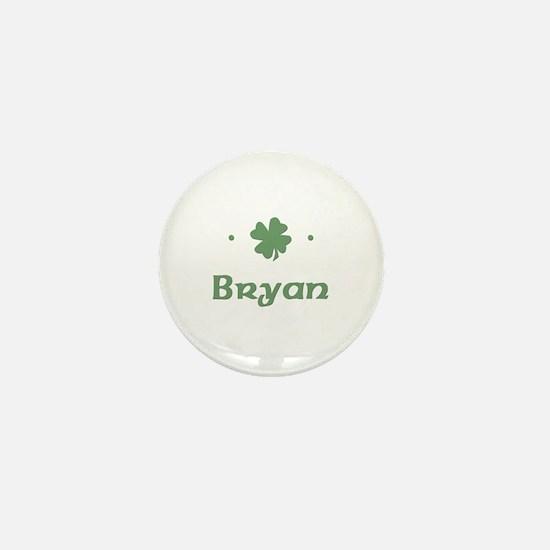 """""""Shamrock - Bryan"""" Mini Button"""