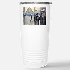 Rainy day in Paris Travel Mug