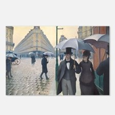 Rainy day in Paris Postcards (Package of 8)