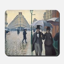 Rainy day in Paris Mousepad