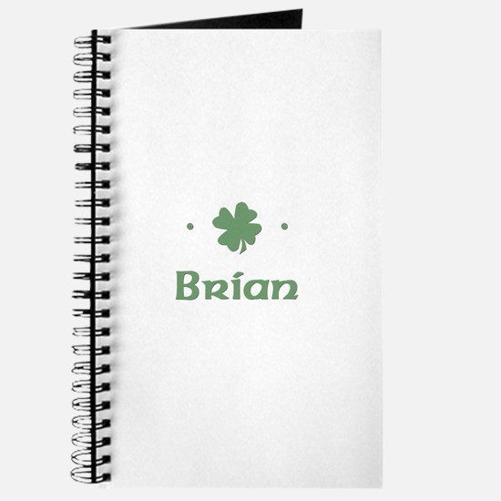 """Shamrock - Brian"" Journal"