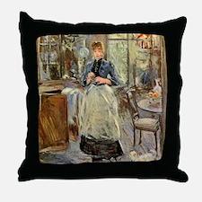 Berthe Morisot Throw Pillow