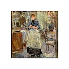 "Berthe Morisot Square Sticker 3"" x 3"""