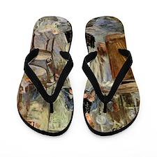 Berthe Morisot Flip Flops
